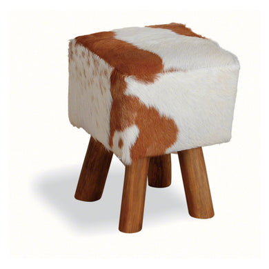 Chau Square Stool comes in a natural finish with a recycled style and is available from roomshaped.co.uk