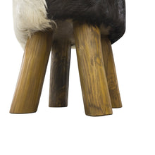 Load image into Gallery viewer, Chau Stool comes in a natural finish with a recycled style and is available from roomshaped.co.uk