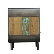 Load image into Gallery viewer, Dea Bedside comes in a multi-colour finish with a recycled style and is available from roomshaped.co.uk