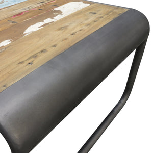 Dea Coffee Table comes in a multi-colour finish with a recycled style and is available from roomshaped.co.uk