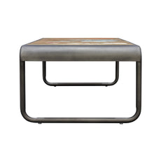 Load image into Gallery viewer, Dea Coffee Table comes in a multi-colour finish with a recycled style and is available from roomshaped.co.uk