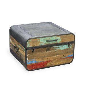 Dea Trunk comes in a multi-colour finish with a recycled style and is available from roomshaped.co.uk