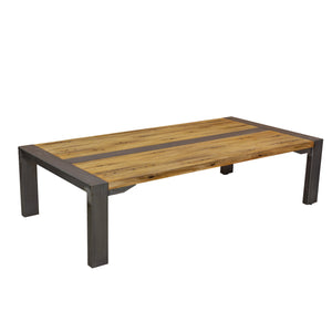 Due Coffee Table comes in a natural finish with a retro classic style and is available from roomshaped.co.uk