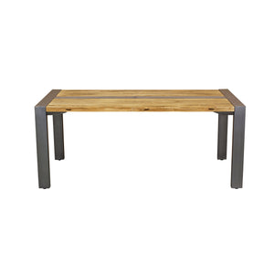 Due Dining Table comes in a natural finish with a retro classic style and is available from roomshaped.co.uk