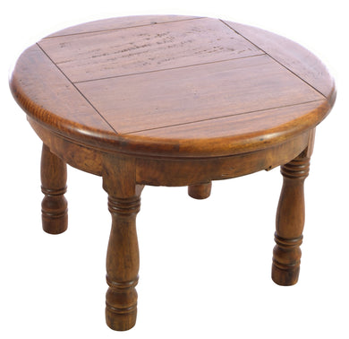 Felix Round Table comes in an oak finish with a java style and is available from roomshaped.co.uk