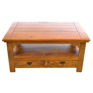 Intan Coffee Table comes in an oak finish with a java style and is available from roomshaped.co.uk