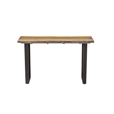 Hanh Console Table comes in a natural finish with a city style and is available from roomshaped.co.uk