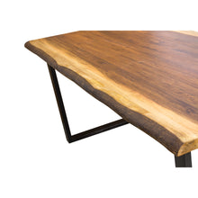 Load image into Gallery viewer, Hanh Dining Table comes in a natural finish with a city style and is available from roomshaped.co.uk