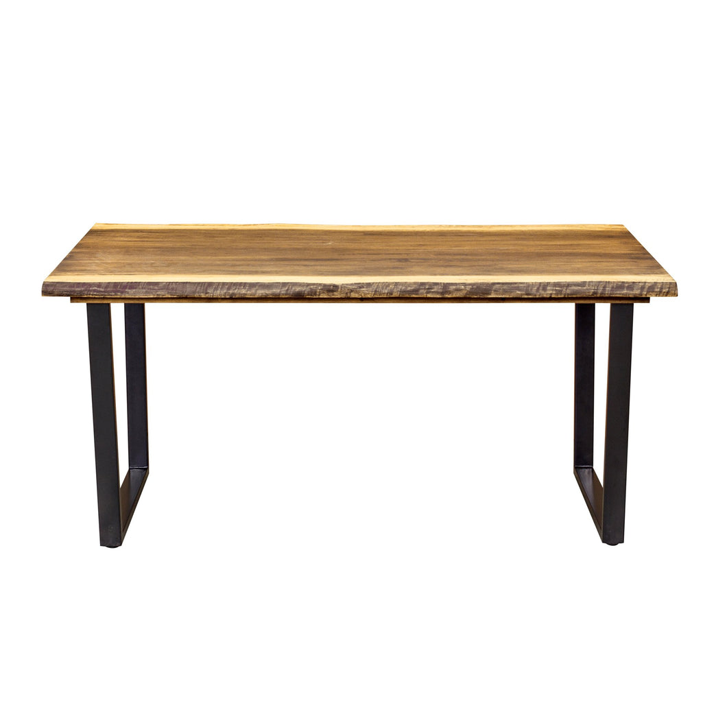 Hanh Dining Table comes in a natural finish with a city style and is available from roomshaped.co.uk