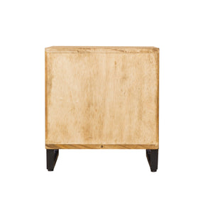 Hanh Side Table comes in a natural finish with a city style and is available from roomshaped.co.uk