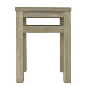 Kevin Stool comes in grey and a natural finish with a city style and is available from roomshaped.co.uk