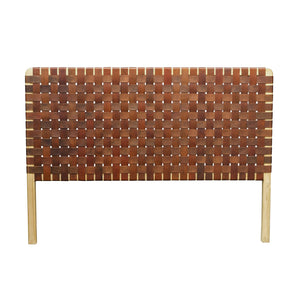 Kittibun Headboard comes in brown and white with a java style and is available from roomshaped.co.uk