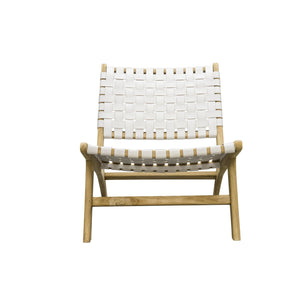 Kittibun Laidback Chair comes in brown and white with a java style and is available from roomshaped.co.uk