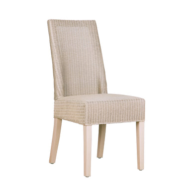 Limehouse Loom Dining Chair comes in a natural finish with a retro classic style and is available from roomshaped.co.uk