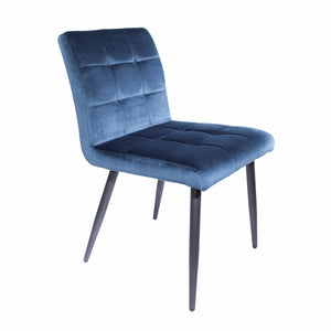 Marta Dining Chairs - Set of 2 comes in blue and grey with a retro classic style and is available from roomshaped.co.uk