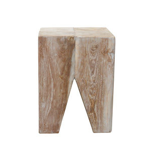 Mayuree Stool comes in grey and a natural finish with a java style and is available from roomshaped.co.uk
