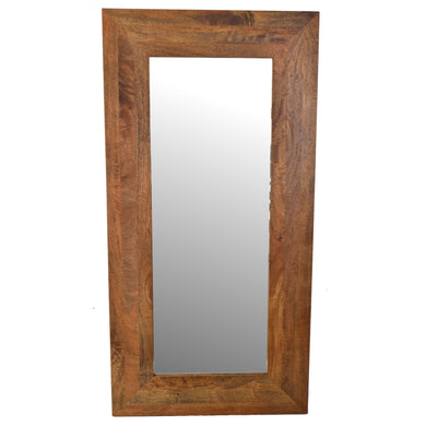 Dadhlan Mirror comes in an oak finish with a new industrial style and is available from roomshaped.co.uk