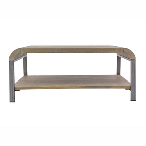 Nattapong Coffee Table comes in a natural finish with a retro classic style and is available from roomshaped.co.uk