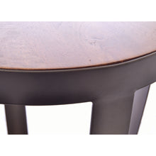 Load image into Gallery viewer, Rio Lamp Table comes in a natural finish and an oak finish with a new industrial style and is available from roomshaped.co.uk