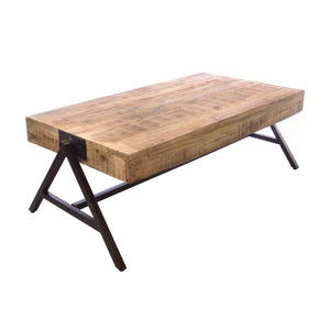 Dinda Coffee Table comes in a natural finish with a distressed style and is available from roomshaped.co.uk