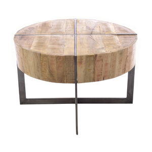 Dwi Coffee Table comes in a natural finish with a distressed style and is available from roomshaped.co.uk