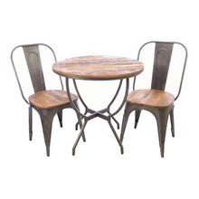 Load image into Gallery viewer, Daffa Dining Table comes in a natural finish with a distressed style and is available from roomshaped.co.uk