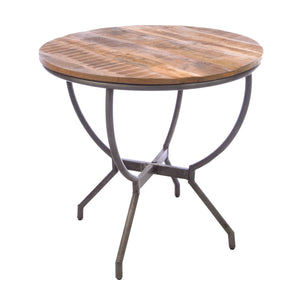 Daffa Dining Table comes in a natural finish with a distressed style and is available from roomshaped.co.uk