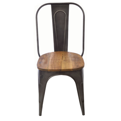 Bryan Dining Chair has a distressed style and is available from roomshaped.co.uk