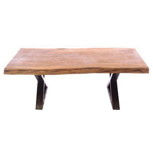Paula Coffee Table comes in a natural finish with a industrial style and is available from roomshaped.co.uk