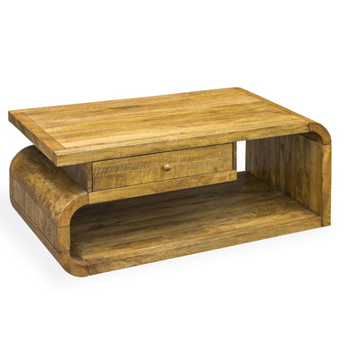 Pakpao Coffee Table comes in a natural finish with a city style and is available from roomshaped.co.uk