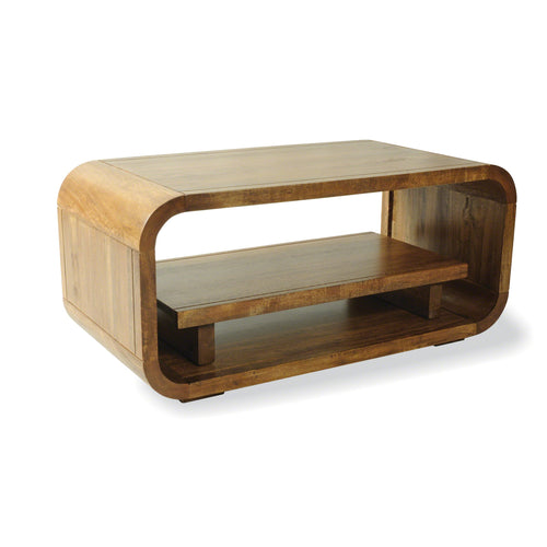 Pakpao Media Table comes in a natural finish with a city style and is available from roomshaped.co.uk