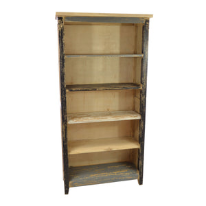 Aldi Bookcase comes in a multi-colour finish and a natural finish with a distressed style and is available from roomshaped.co.uk