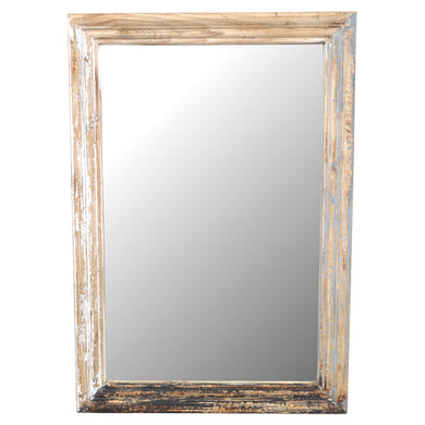 Rama Mirror comes in a multi-colour finish with a distressed style and is available from roomshaped.co.uk