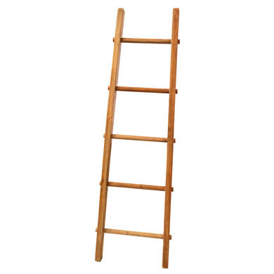 Vania Display Ladder comes in an oak finish with a industrial style and is available from roomshaped.co.uk