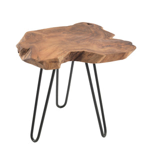 Fitri Root Lamp Table has a natural style and is available from roomshaped.co.uk