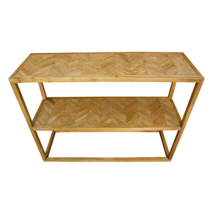 Sarawut Console comes in a natural finish with a retro classic style and is available from roomshaped.co.uk
