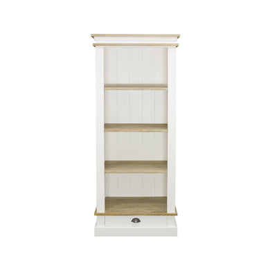 Sidony Bookcase comes in white with a country style and is available from roomshaped.co.uk