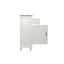 Load image into Gallery viewer, Sidony Cupboard comes in white with a country style and is available from roomshaped.co.uk