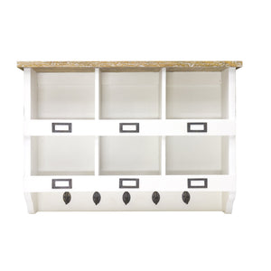 Sidony Storage Unit comes in white with a country style and is available from roomshaped.co.uk