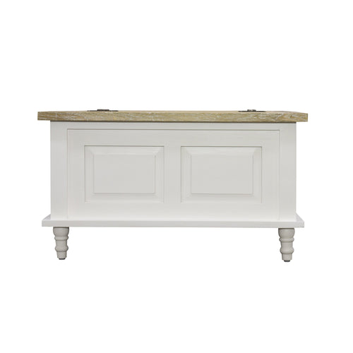 Sidony Trunk comes in white with a country style and is available from roomshaped.co.uk