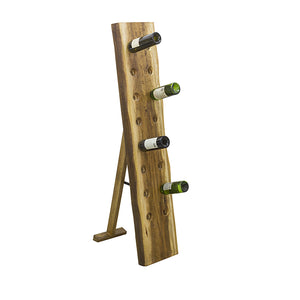 Sunstra 16 Bottle Wine Rack comes in a natural finish with a new industrial style and is available from roomshaped.co.uk