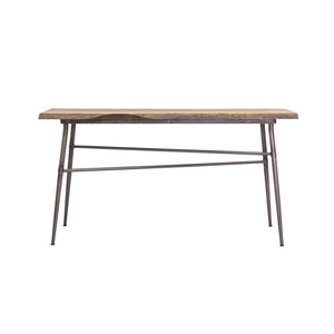 Sunstra Console Table comes in a natural finish with a new industrial style and is available from roomshaped.co.uk
