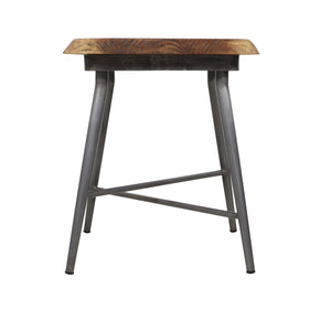 Sunstra Lamp Table comes in a natural finish with a new industrial style and is available from roomshaped.co.uk