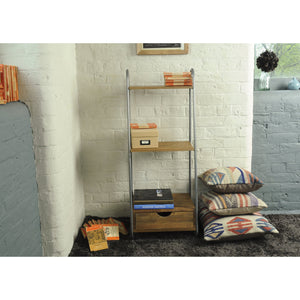 Thom 3 Shelves comes in a natural finish with a new industrial style and is available from roomshaped.co.uk