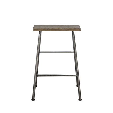 Thom Counter Stool comes in a natural finish with a new industrial style and is available from roomshaped.co.uk