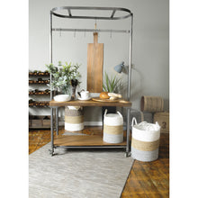 Load image into Gallery viewer, Thom Long Server comes in a natural finish with a new industrial style and is available from roomshaped.co.uk