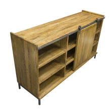 Load image into Gallery viewer, Thom Sideboard comes in a natural finish with a new industrial style and is available from roomshaped.co.uk