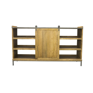 Thom Sideboard comes in a natural finish with a new industrial style and is available from roomshaped.co.uk