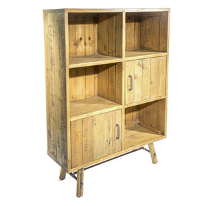 Uma Bookcase comes in a natural finish with a country style and is available from roomshaped.co.uk