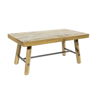 Uma Coffee Table comes in a natural finish with a country style and is available from roomshaped.co.uk